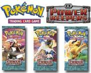 We review the new Pokemon card game EX Power Keepers set, including the new Stadium cards!