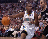 Chris Paul of the Hornets.