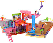 Set sail with Polly Pocket on the So Hip Cruise Ship!