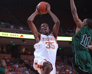 University of Texas standout Kevin Durant.
