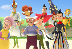 Meet the Robinsons is Disney's latest animated movie.