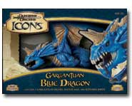 We review the massive new Blue Dragon for the D&D Miniatures game of fantasy battles!