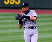 Seattle Mariners star Ichiro Suzuki.