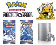 Get the 411 on new Pokemon Diamond and Pearl cards, plus free TVs as the PS3 finally drops in the United Kingdom!