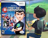 Meet the Robinsons and join the wacky future family in this crazy adventure game based on the new Disney movie!