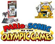 Get the 411 on Mario and Sonic teaming up for an Olympic game, and a new 3D Transformers card game!