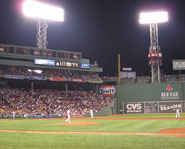 Fenway Park is home of the Boston Red Sox.