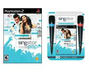 Sing along with the coolest pop music hits in the SingStar Pop game for PS2! Here's Gary's review.