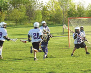 Lacrosse is a very competitive and physically rewarding sport.