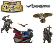 Unleash ghouls, ghosts and vampires with the D&D Miniatures: Unhallowed game of fantasy battles!