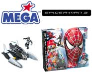 Download the wicked new MEGA Bloks Spider-Man 3 Toymation video right here!