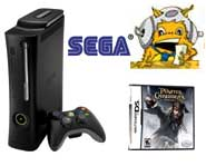 Get game news and previews for Pirates, Nancy Drew, the Xbox 360 Elite, SEGA and PaRappa!