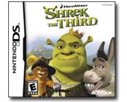 Save the day in Far Far Away with Shrek, Puss in Boots and Prince Arthur! We review the new Nintendo DS game.