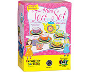 Paint and design your own tea set!