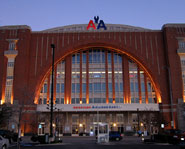 The American Airlines Center is home to the Dallas Mavericks and Stars.
