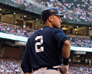 Derek Jeter of the New York Yankees is one of the best players in the MLB.