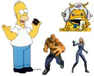 We have the 411 on the Simpsons video game from EA plus the Fantastic Four: Rise of the Silver Surfer game trailer for you to download!