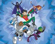 Teen Titans is just one of the many cartoons that features great superheroes.