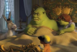 Shrek and the gang are back for another adventure in Shrek the Third.