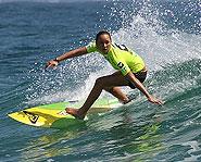 Teenage surfing sensation Carissa Moore.