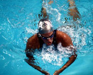 Swimming is an excellent cardiovascular activity.