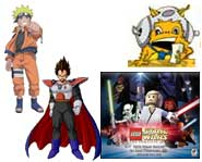 We have preview pics and videos for Surf's Up, Naruto: Ninja Council 3, another LEGO Star Wars and Dragon Ball Z: Budokai Tenkaichi 3!