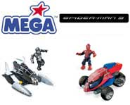 Fight crime and unleash super-powers with Spidey, Venom and more in the Spider-Man 3 MEGA Bloks sets. We review them.