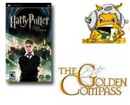 Download Harry Potter videos and get the 411 on the upcoming Golden Compass video game from SEGA! It's all here.
