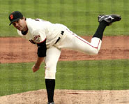 Barry Zito of the San Francisco Giants is a Three time MLB All Star.