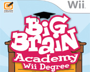Big Brain Academy: Wii Degree tests your smarts on the Nintendo Wii game console.