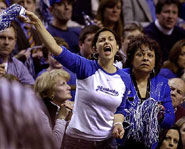 Kentucky native Ashley Judd is a die hard Universityof Kentucky Basketball fan.