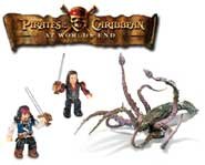 See the latest MEGA Bloks Pirates of the Caribbean toys come to life with this Toymation video download!