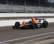 Scottish race car driver Dario Franchitti is one of the top IndyCar Series drivers in the world.
