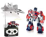 Take home the epic Transformers battle with the new Autobot and Decepticon toys from Radio Shack!