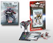 Build, transform and battle for the All Spark with the Transformers 3D Battle Card Game. We review it here.