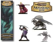 Underground monsters are on the loose! Control dark elves, dragons and wizards with this D&D Miniatures game expansion.