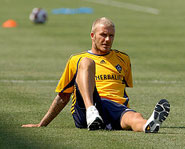 This week David Beckham arrived in the U.S. to play for the L.A. Galaxy of the MLS.