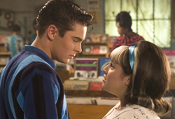 Zac Efron and Nikki Blonsky star in Hairspray.