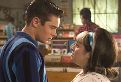 Zac Efron and Nikki Blonsky star in Hairspray.