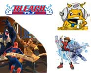 We have previews of Bleach for Wii and DS, plus info on the Yu-Gi-Oh! card game championships and Spider-Man: Friend or Foe!