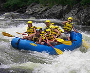 Working as a whitewater rafting guide is a thrilling job!