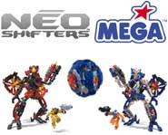 Get the scoop on the new NEO Shifter transforming robot toys and the battle between the Paladins and the Templars with our toy review!