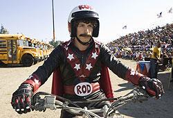 SNL's Andy Samberg plays an aspiring stuntman in Hot Rod.