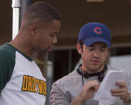 Fred Savage directs Cuba Gooding Jr. in Daddy Day Camp.