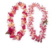Make leis at your Hawaiian luau party!