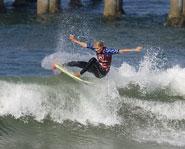 Surfing sensation Stephanie Gilmore hails from the land down under.