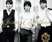 This self-titled CD is the Jonas Brothers' second album.