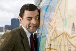 Rowan Atkinson returns as Mr.Bean in Mr. Bean's Holiday.