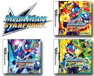 Unlock mega power-ups with these game cheats for the three Mega Man Star Force games for Nintendo DS!
