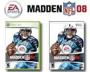 EA's new Madden football game is here for Xbox 360 and Wii! Get the 411 on the action with Gary's Madden NFL 08 game review.